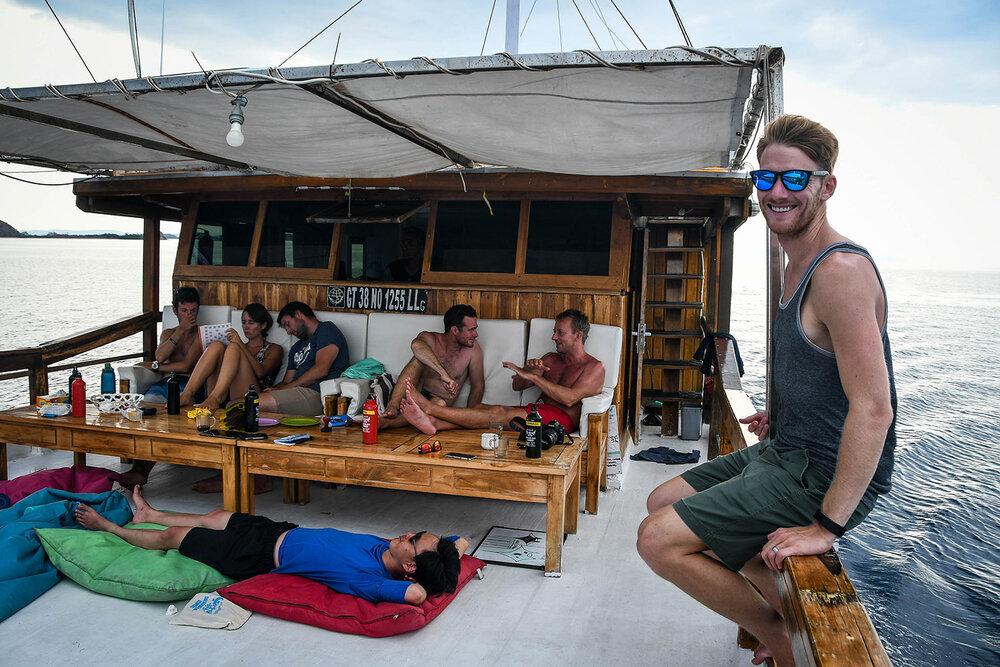 Liveaboard Diving Trip | Our Liveaboard boat in Komodo