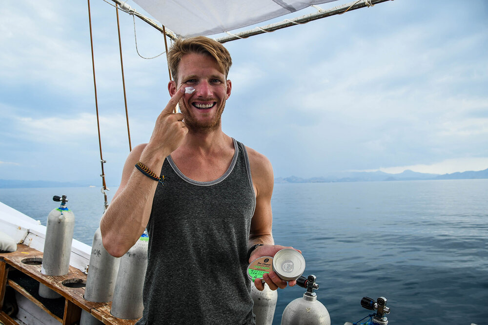 Eco-friendly Liveaboard Tips | Reef-safe sunscreen