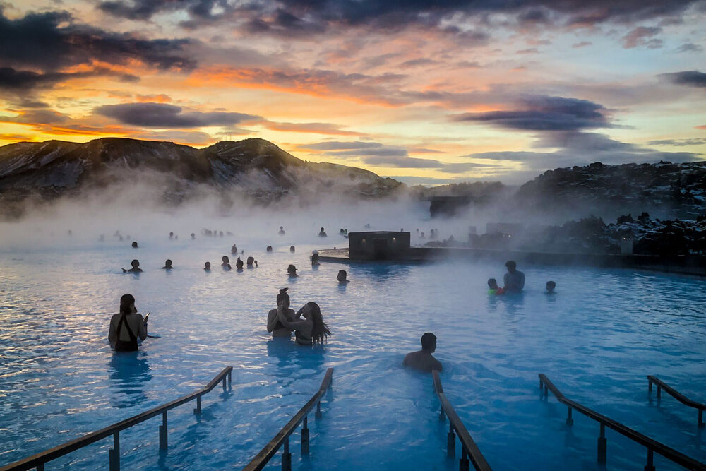 Best Time to Visit Iceland | Blue Lagoon at Sunrise