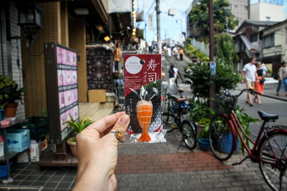 Japan Souvenirs Sushi Magnet