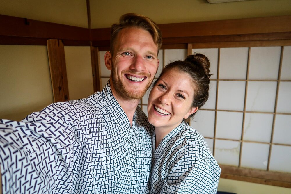 What to Buy in Japan Yukata in Guesthouse