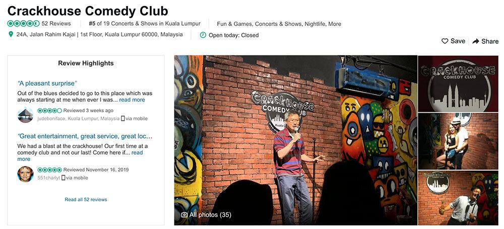 Things to do in Kuala Lumpur Comedy Club