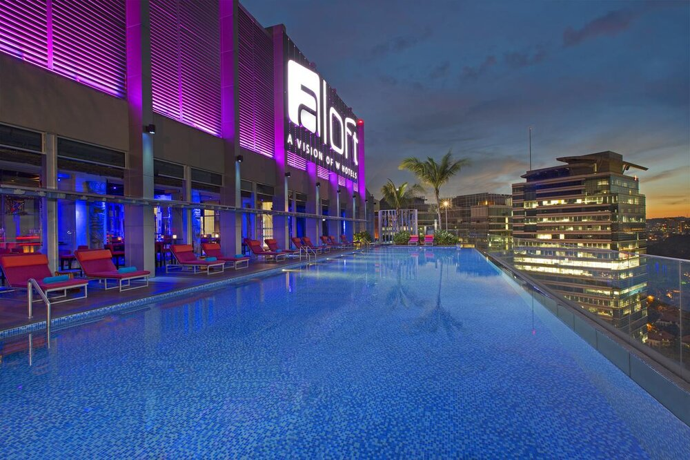 Things to do in Kuala Lumpur | ALoft KL Rooftop Pool