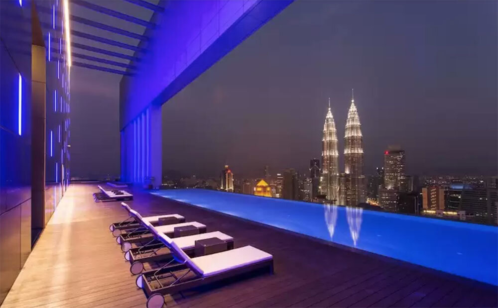 Things to do in Kuala Lumpur | FACE Suites KL Rooftop Infinity Pool