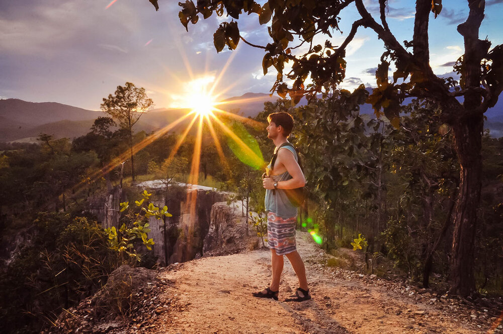 Best Time to Visit Thailand | Grand Canyon sunset in Pai