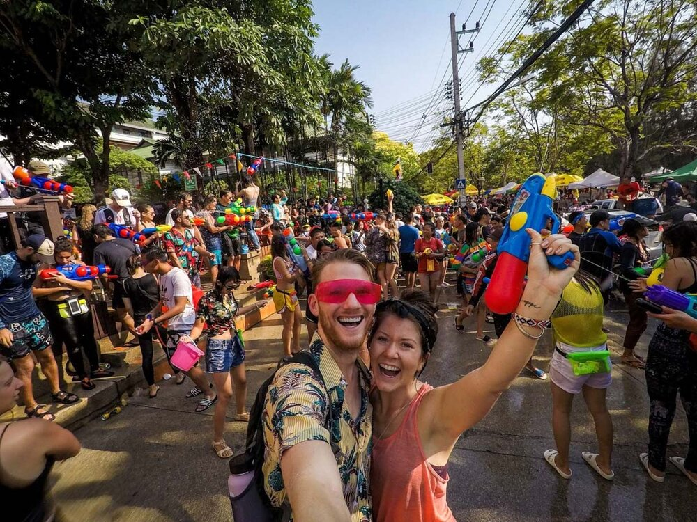 Best Time to Visit Thailand | Songkran Festival in Chiang Mai