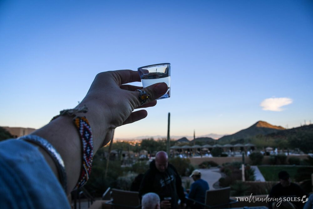 Things to do in Tucson JW Marriott Tequila Toast