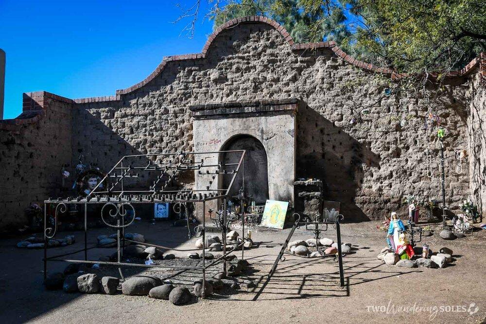 Things to do in Tucson El Tiradito Shrine Barrio Viejo