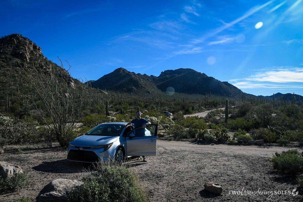Rental Car in Tucson Arizona