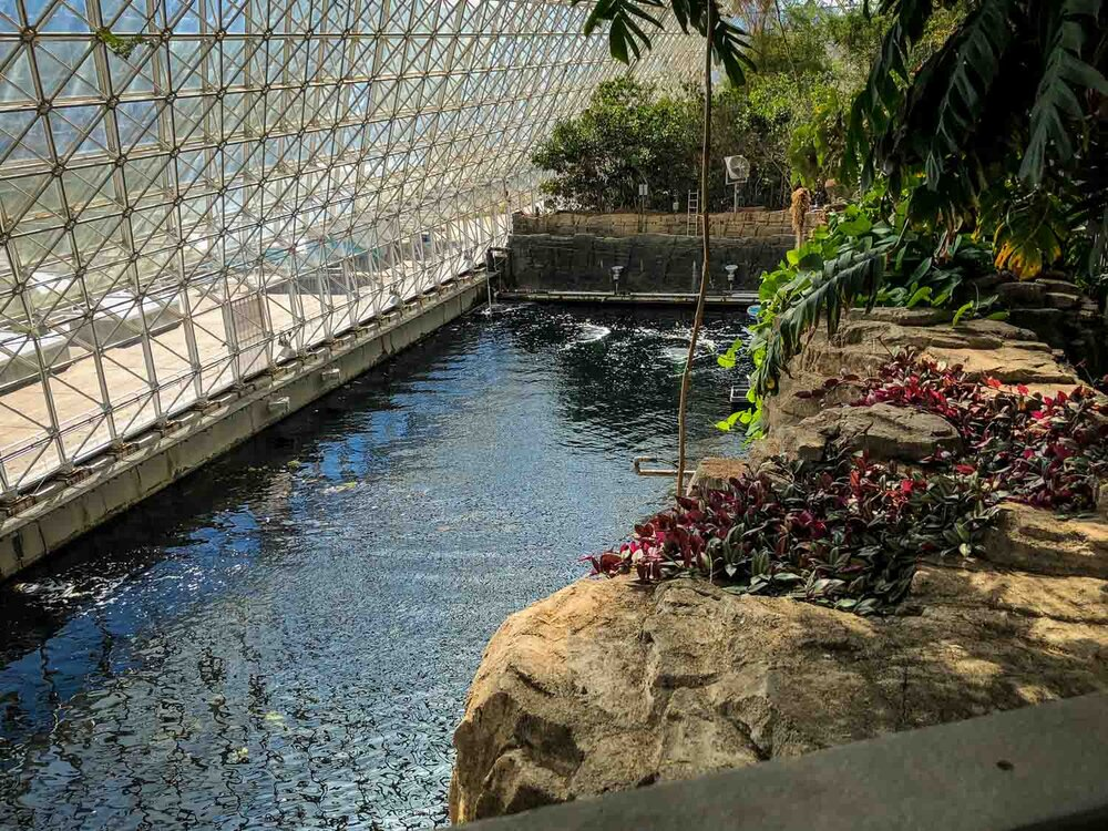Inside Biosphere 2 | Photo Credit: My Mom ;)