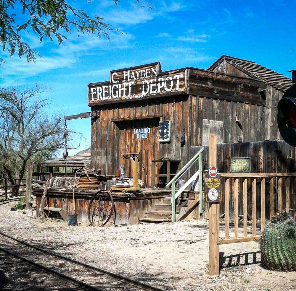 Old Tucson   Photo Credit: My Mom ;)