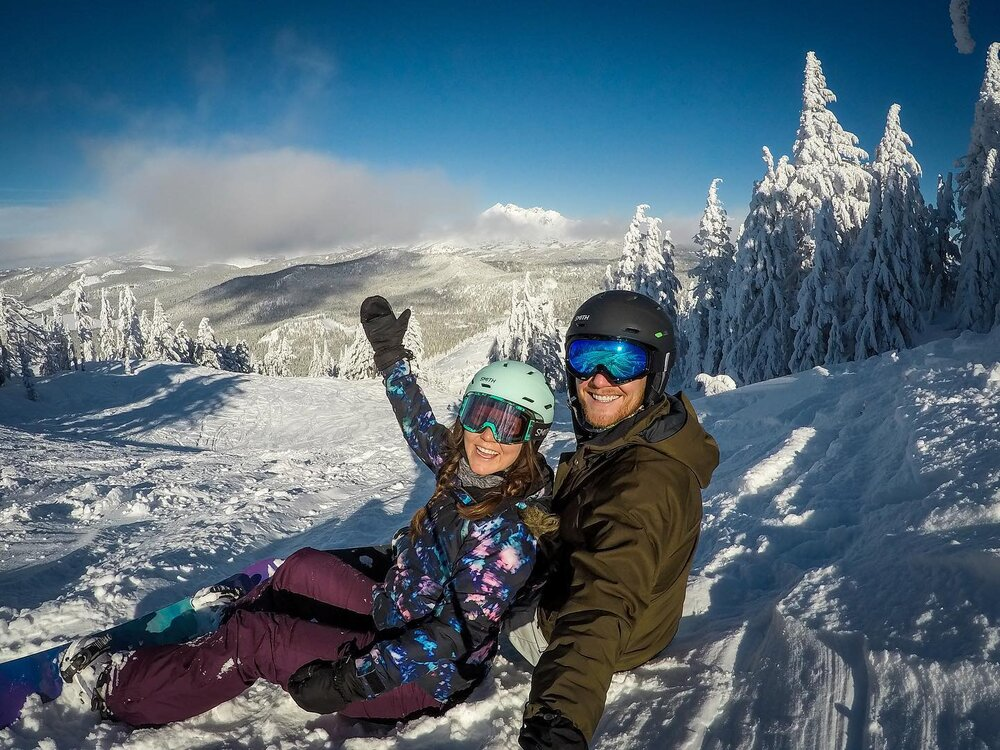 Snowboarding at Mt. Bachelor Bend, OR Income Report