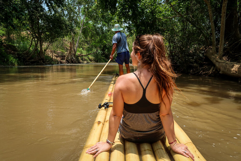 Things to do in Chiang Mai Bamboo Rafting
