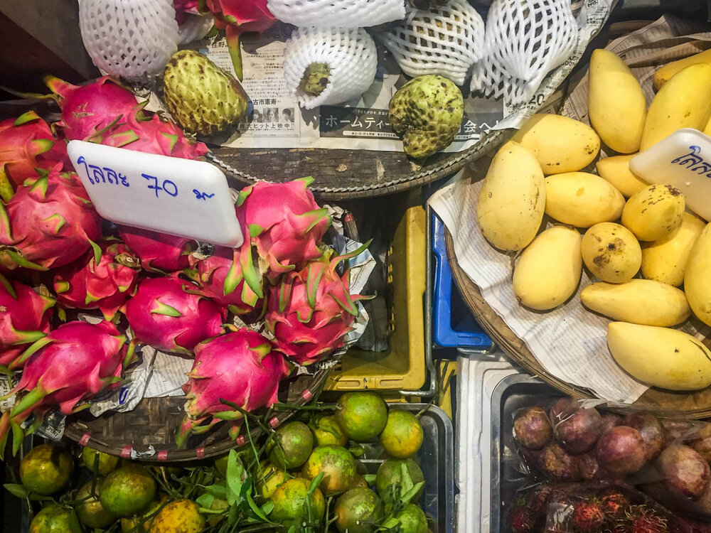 Things to do in Chiang Mai tropical fruits