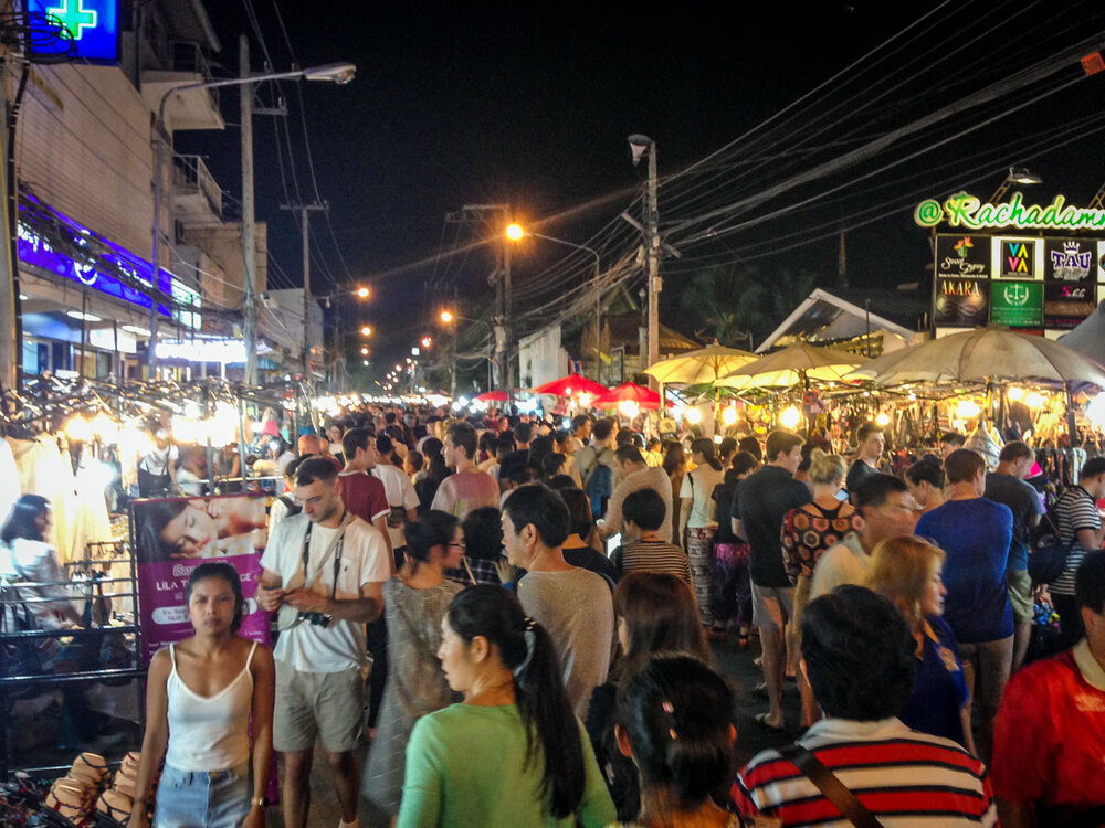 As you can see, the night markets can get incredibly busy, so be prepared to brave the crowds!