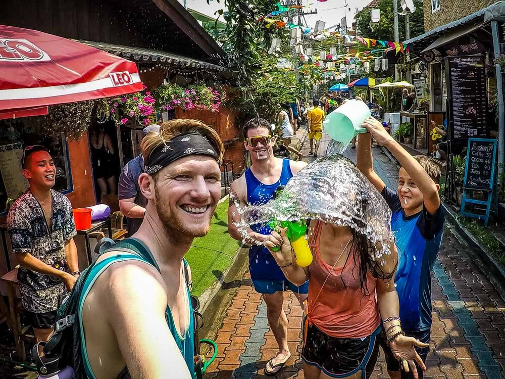 Things to do in Chiang Mai Songkran