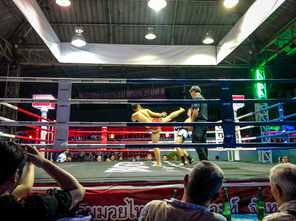 Things to do in Chiang Mai Muay Thai