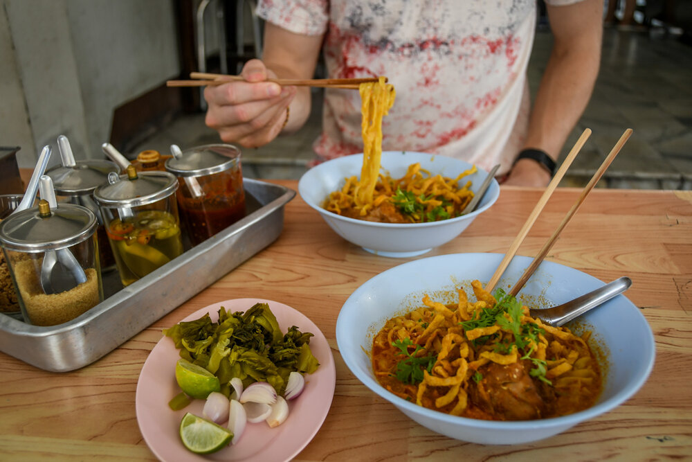 Our favorite version of the dish at Khao Soi Mae Sai