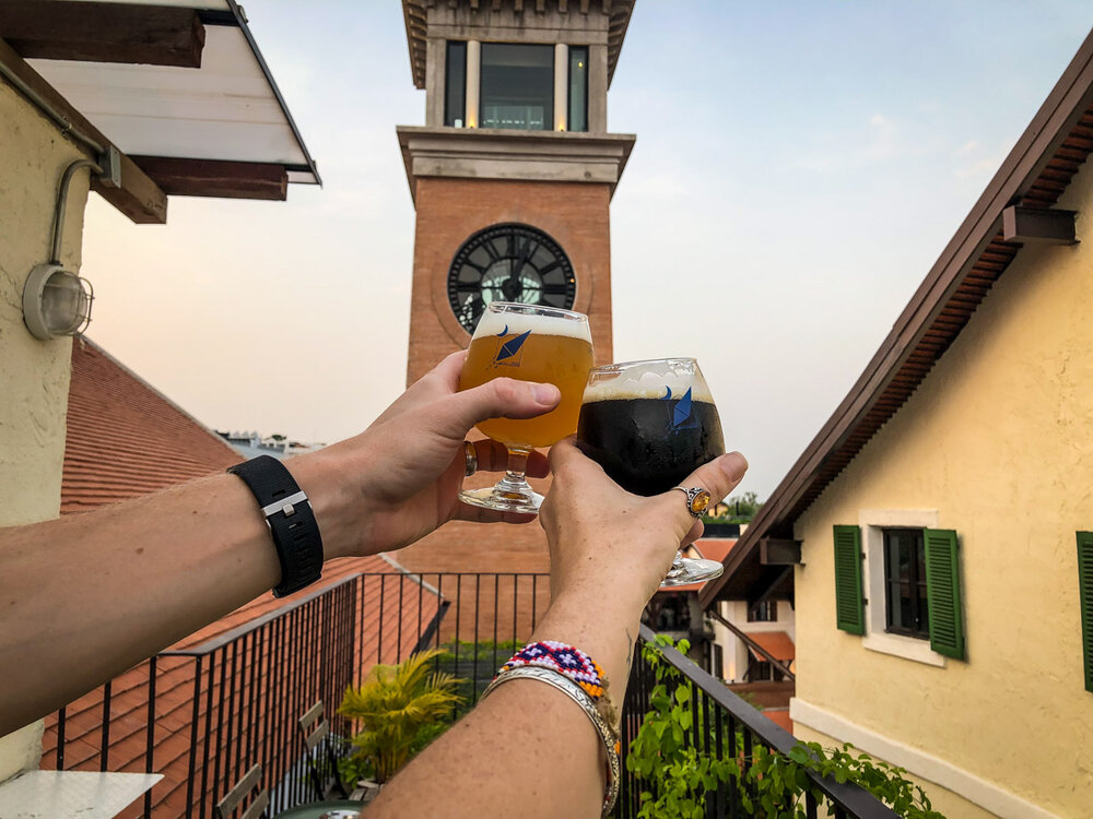 Things to do in Chiang Mai craft beer