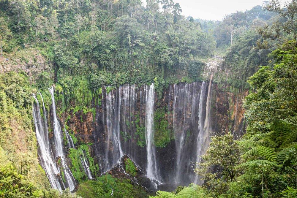 Things to do in Java Tumpak Sewu Waterfall