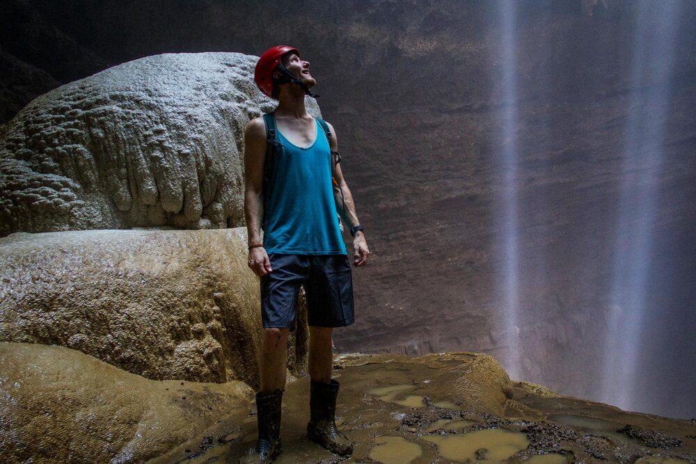 Things to do in Java Jomblang Cave Sunlight Rays