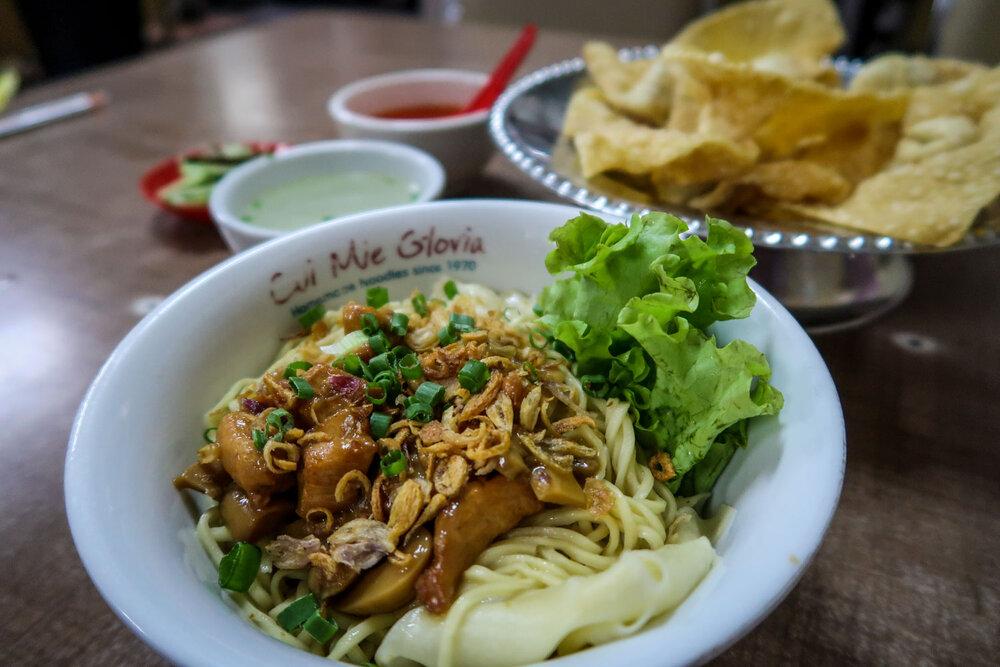 Gloria's Noodles Malang Java