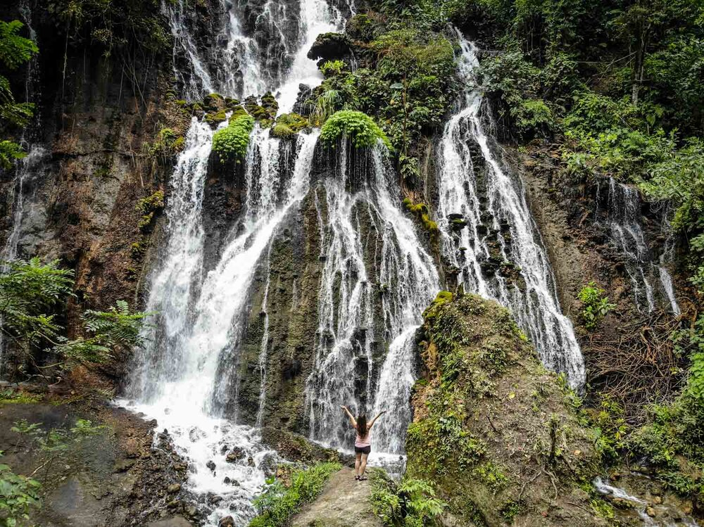 Things to do in Java Goa Tetes Waterfall