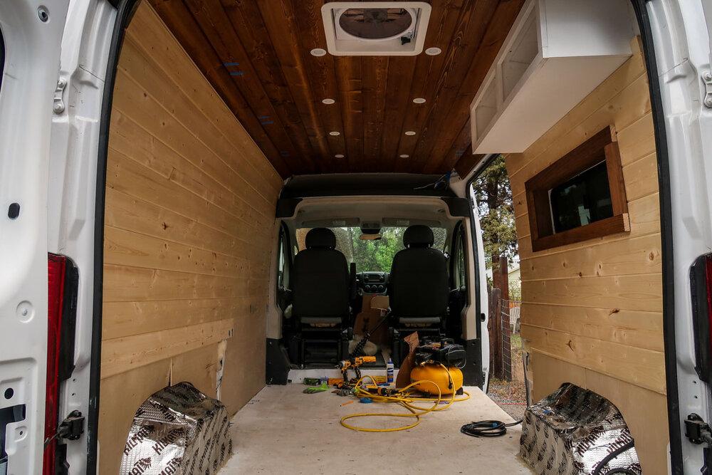 Campervan Cost Floor Walls and Ceiling Cost
