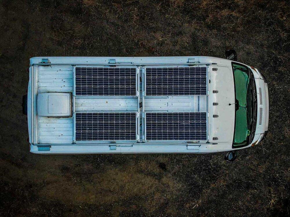 Campervan Cost Solar Panels on Roof Rack