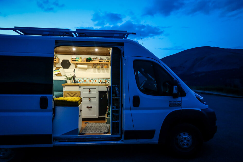 Campervan Cost Electric System