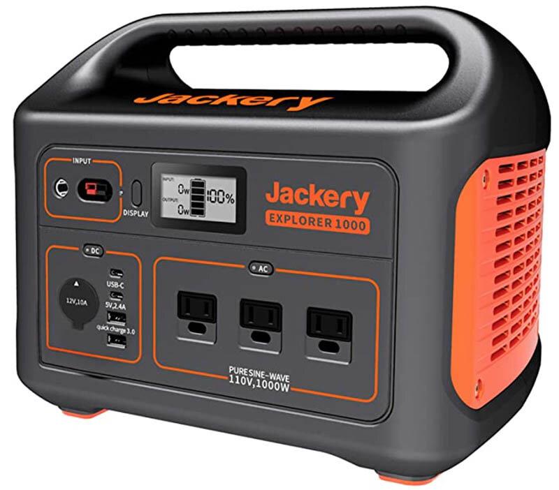 Campervan Cost Jackery Power Station Explorer 1000