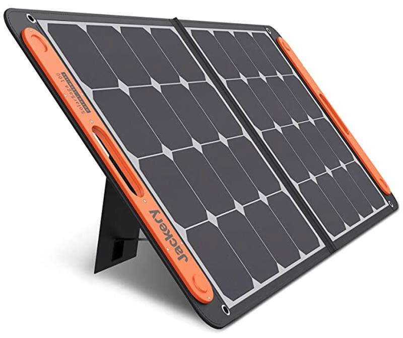 Campervan Costs Jackery 100W Portable Solar Panel