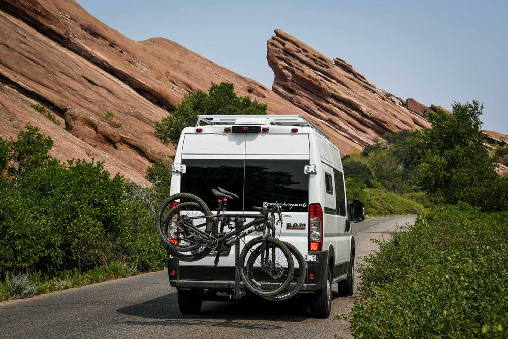 Campervan Cost Bike Rack and Hitch