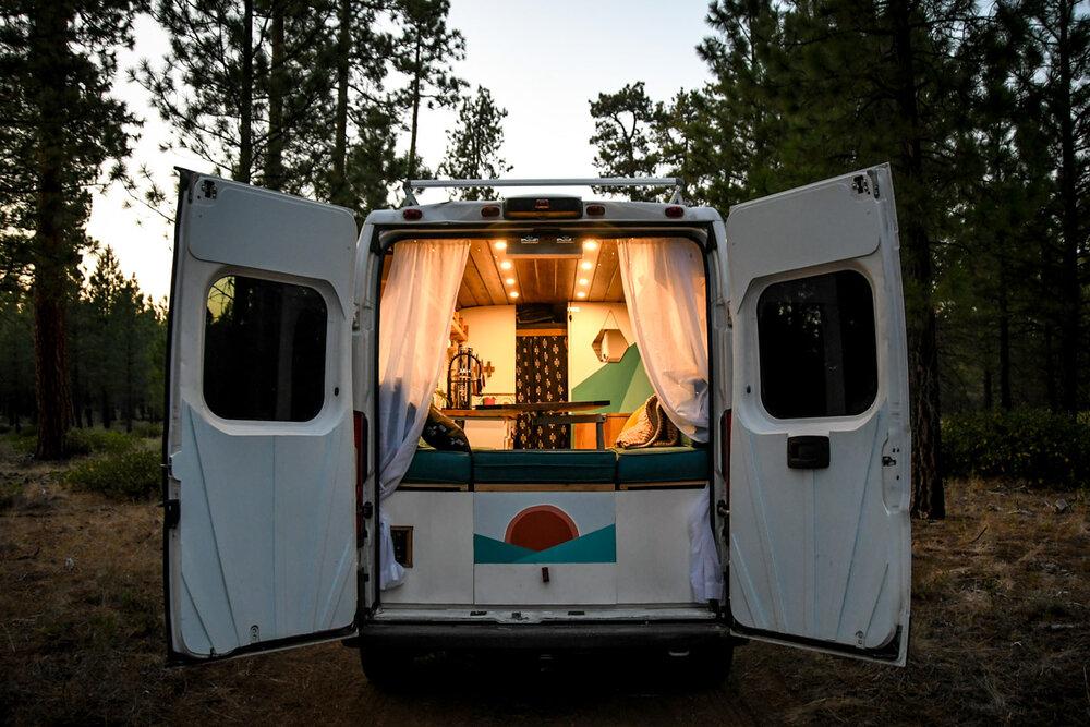 Campervan Costs Total Price Back Doors