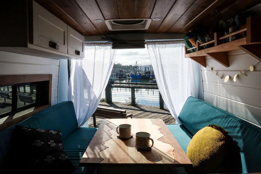 Campervan Costs Luxury Van Build Pearl