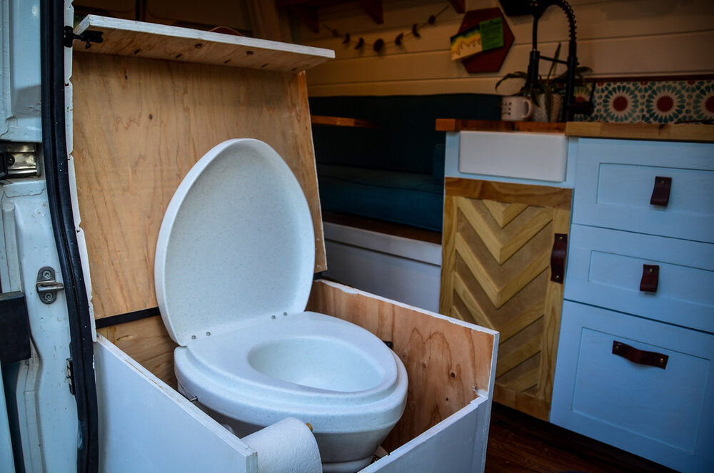 Campervan Costs Toilet Nature's Head Composting Toilet