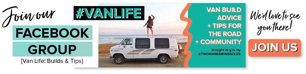 Van Life Facebook Group | Two Wandering Soles