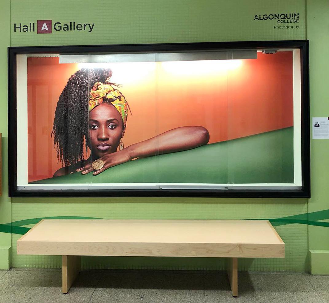Hall A Gallery Space - Jihan Dassouki's Enchantress