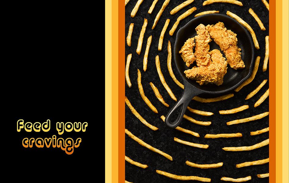 Fried Chicken Advertisment