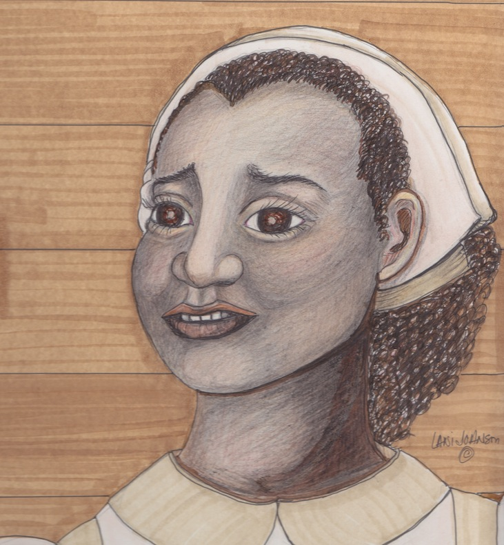 Nance Legins-Costley (artist's rendering)