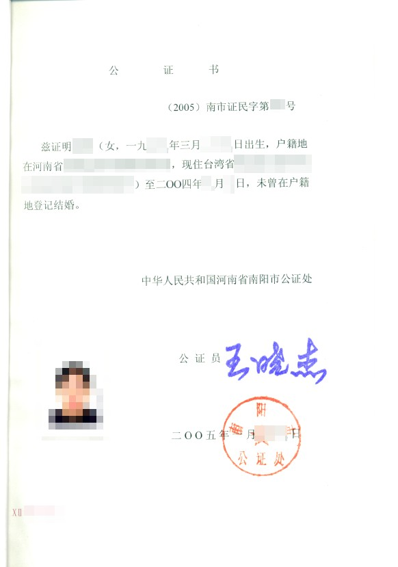 Zaświadczenie notarialne