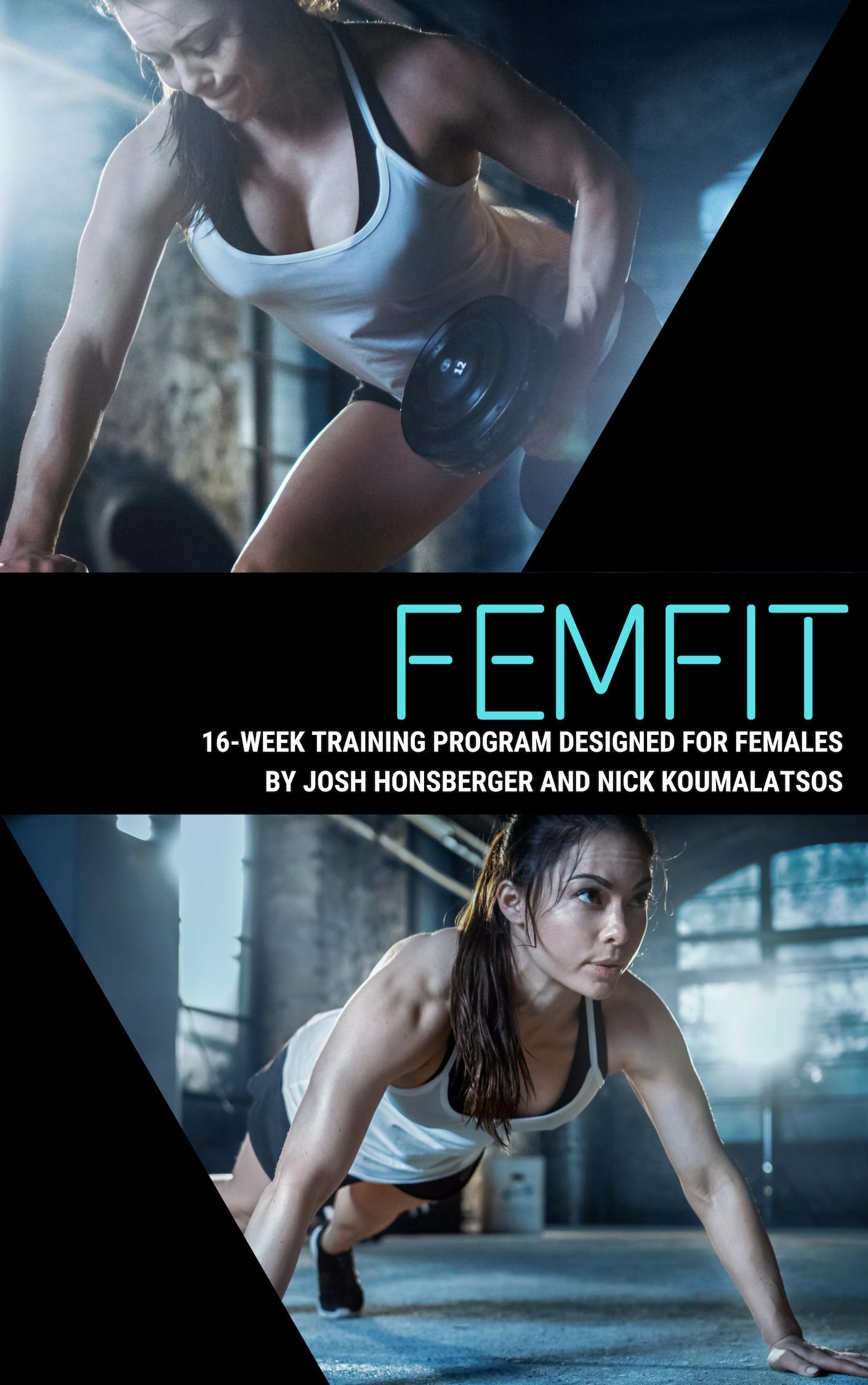 FEMFIT 16 Week Female Training Program  - Available for PRE-SALE
