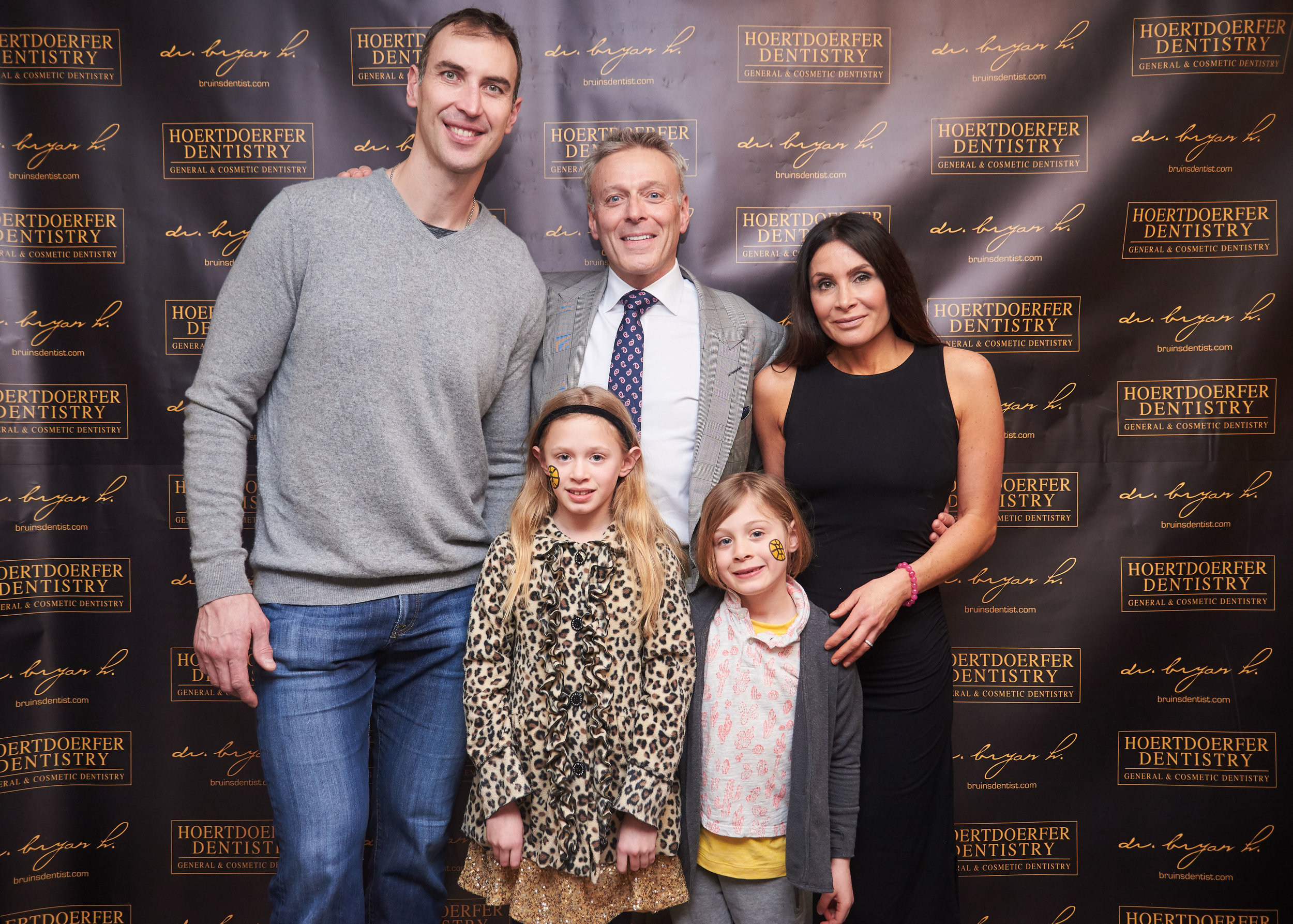 Dr. H and his family with Boston Bruins Captain Zdeno Chara at the 8th Annual Big Z Challenge. The Big Z Challenge has raised over $150k for the Elliot Hospital Regional Cancer Center.