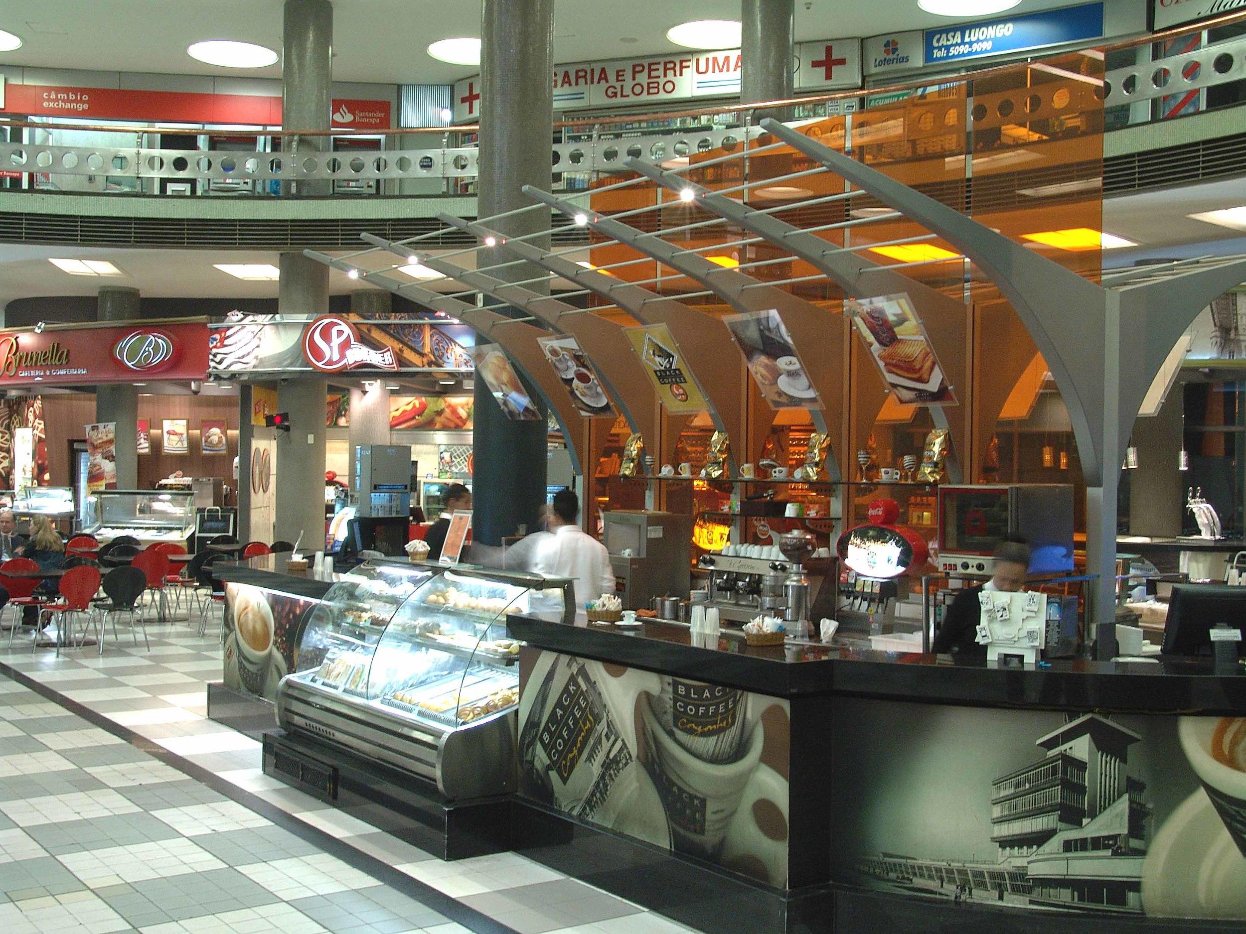 Praça de Alimentação Aeroporto de Congonhas