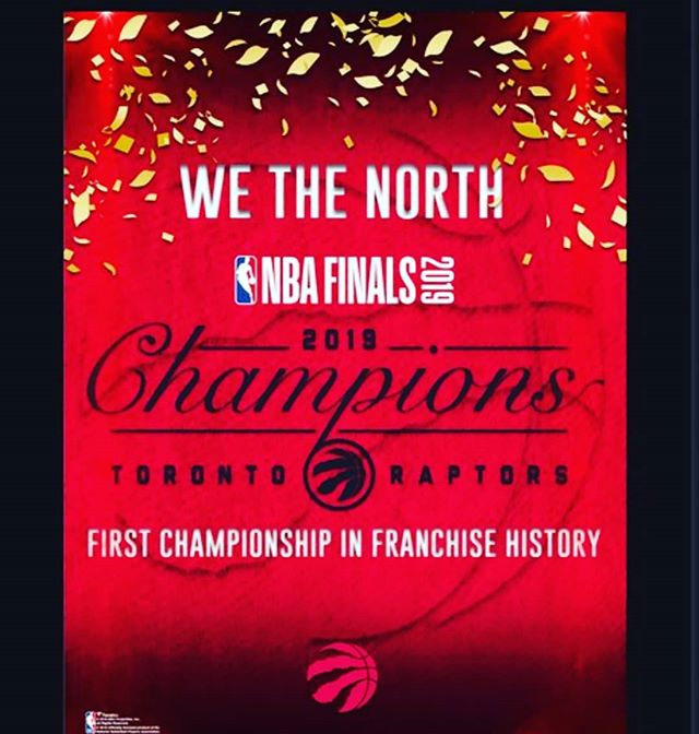 History is made! . . . . . . .  #housefit_toronto #wethenorth #raptors #personaltraining  #personaltrainingtoronto #personaltrainer #torontotrainer #torontogyms #the6 #toronto #torontolife #yyz #thesix #tdot #416 #northyork #fitfam #instafit #beforeandafter #beastmode #weightloss #exercise #train #diet #the6ix #fitness #instagram  #weightlosstransformation #transformation #gta