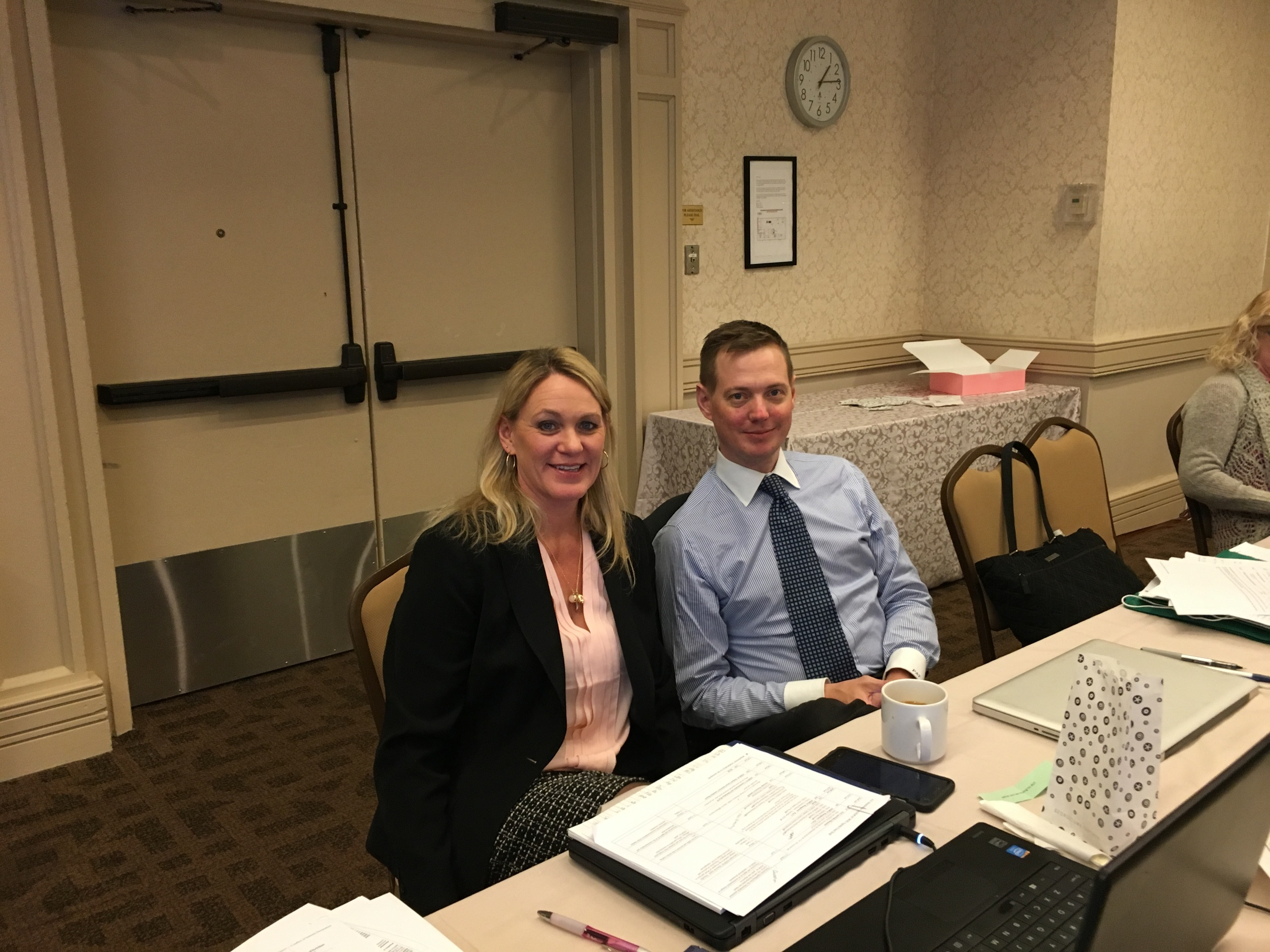 DC Staff Leaders – Jeanne and Pepin
