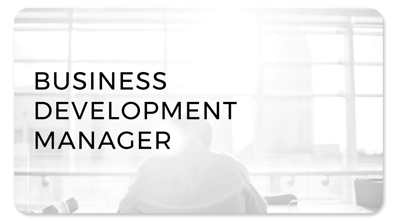 Business Development Manager Role