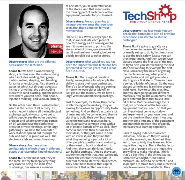 Interview Shane Nestle 1