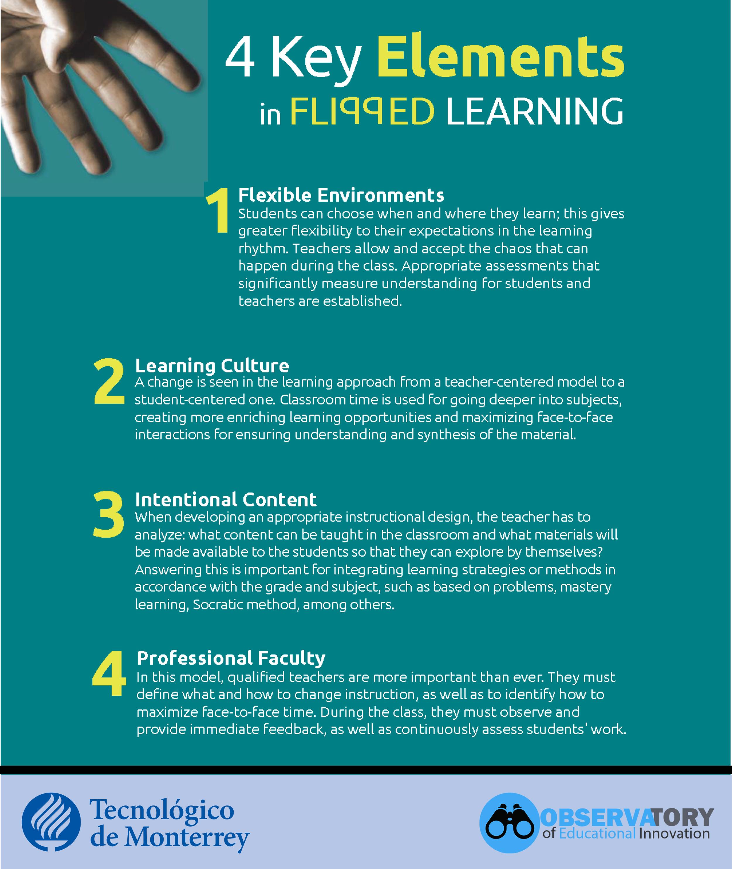 Flipped Learning Key Elements