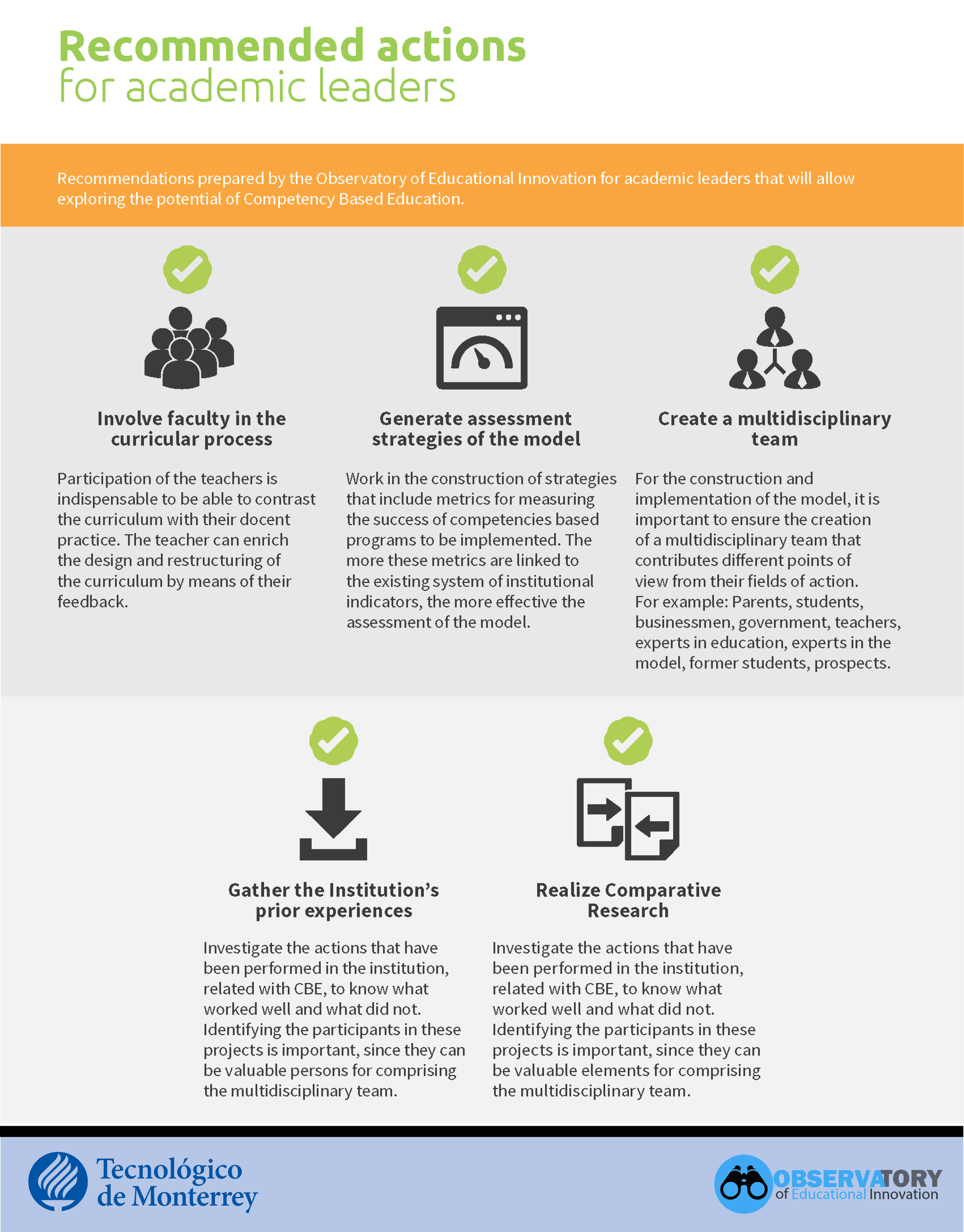 CBE tips for leaders